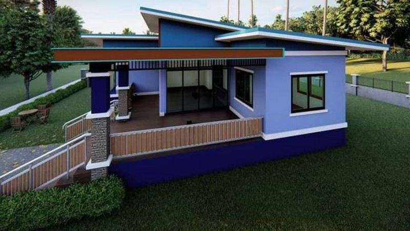Picture of Modern Single Level House with Gorgeous Exterior