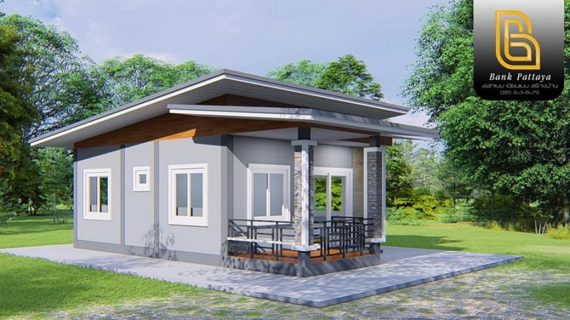 Picture of Attractive Small House Design in Style