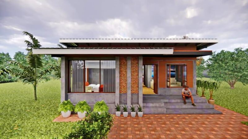 Picture of Modern Loft Style One Storey House Plan