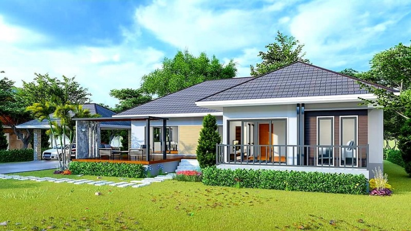 Picture of Modern 3 Bedroom House with Separate Carport