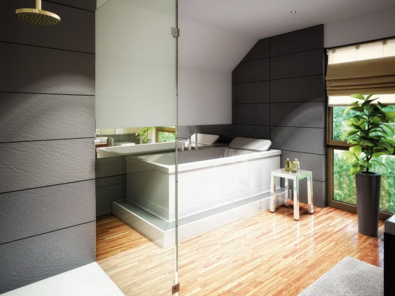 Picture of Elegant Bungalow House with Splendid Interior Design