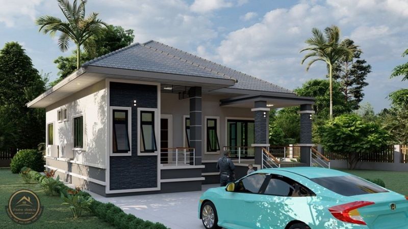 Picture of One-Storey House Plan in Contemporary Style