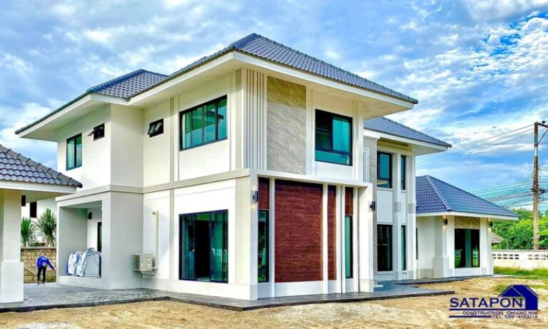 Picture of Modern Luxury House Design with Impressive Exterior